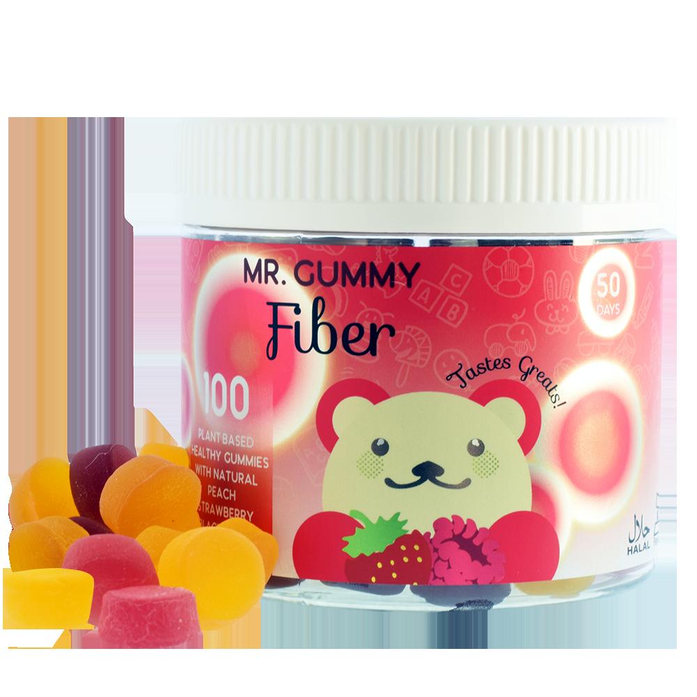 Mr  Gummy Vitamins | Private / White Label Supplements | KIDS FIBER