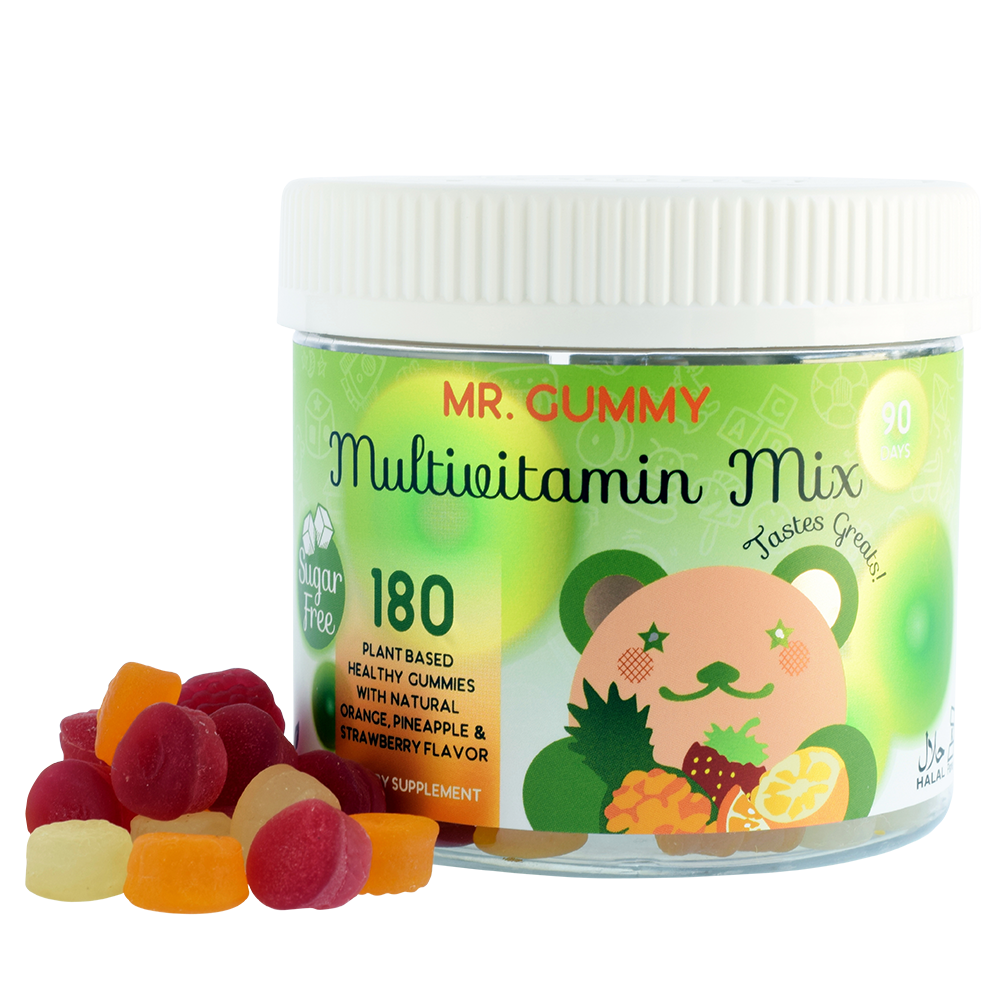 Mr  Gummy Vitamins | Private / White Label Supplements | Family Pack